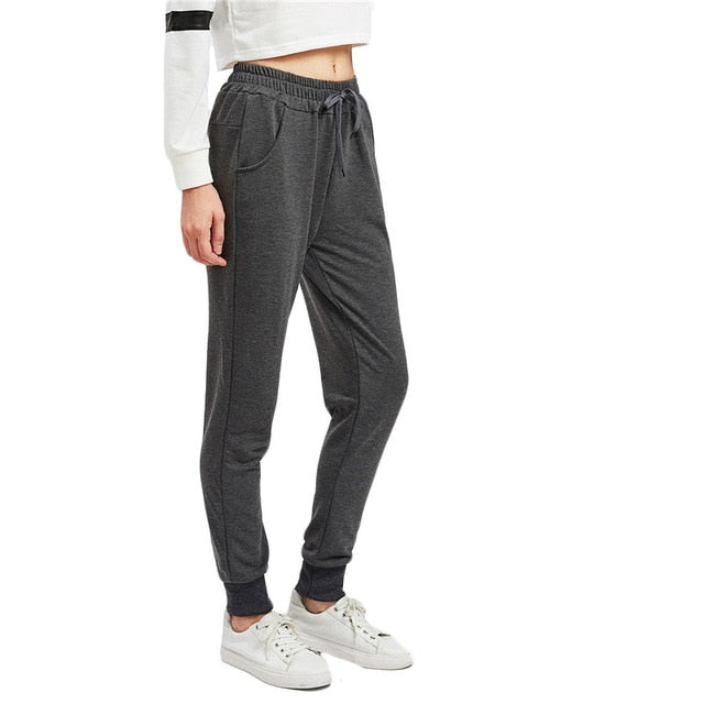Casual Jogger Pants For Young Ladies Dark Grey / XXL in Strawbie Collections - Girls Pants