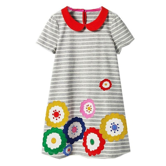 Soft Spring Autumn Dresses For Little Princesses 94 / 4 in Strawbie Collections - girls dress