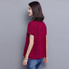 Hipster V-neck Tee top  in Strawbie Collections - Girls Tops