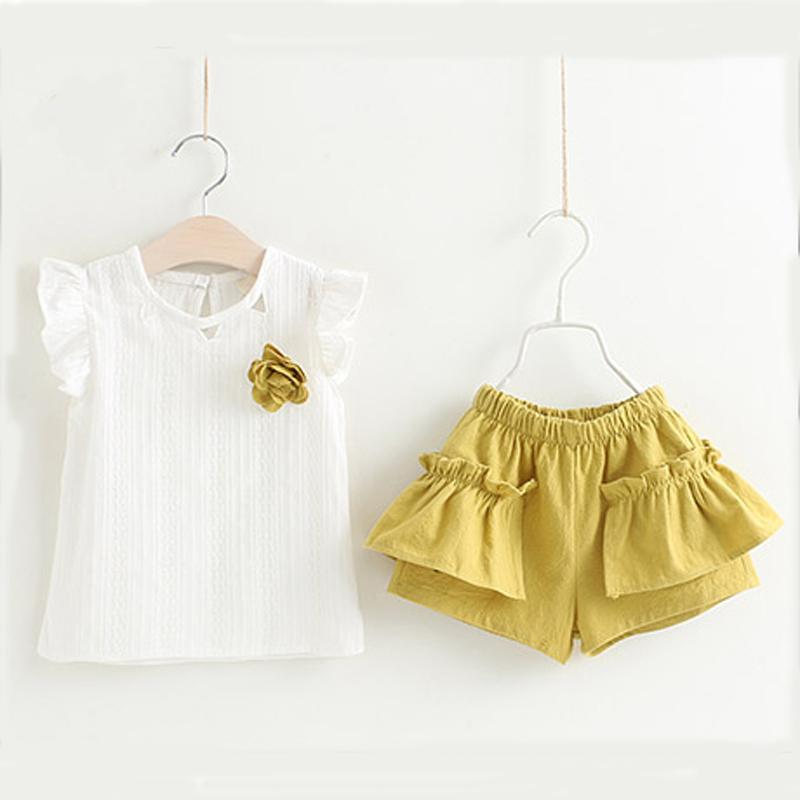Spring Fashion Dress Set  in Strawbie Collections - girls dress set
