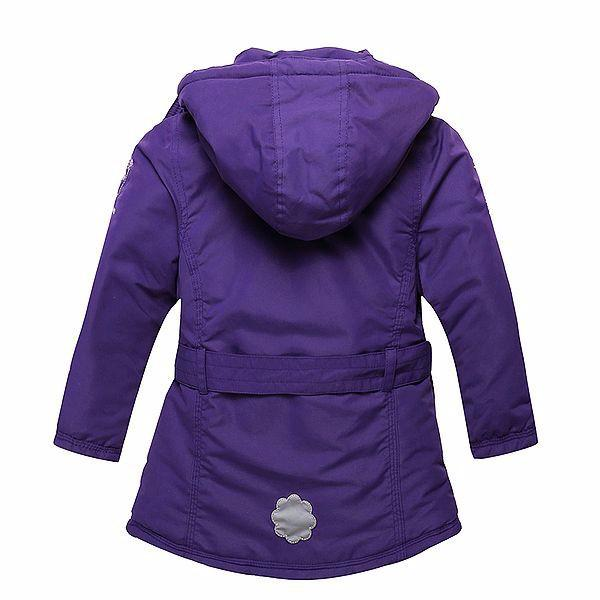 Purple Padded Winter Jacket  in Strawbie Collections - jackets