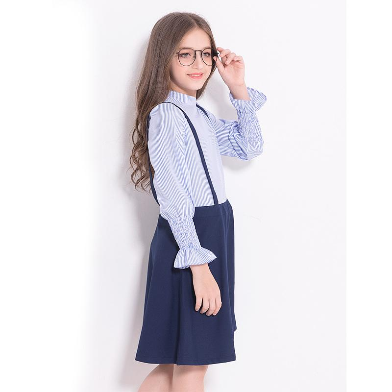 Long Sleeve Dress For Kids  in Strawbie Collections - girls dress