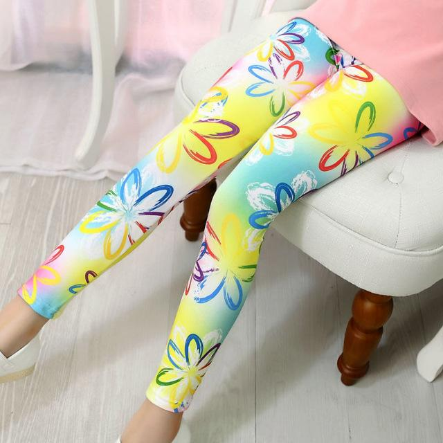 Soft And Comfortable Leggings - girls leggings - 5 / 3 - Strawbie Collections