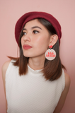 BAD ARTIST HANDMADE EARRINGS