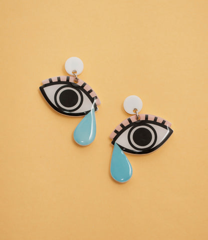 TEARDROP HANDMADE EARRINGS