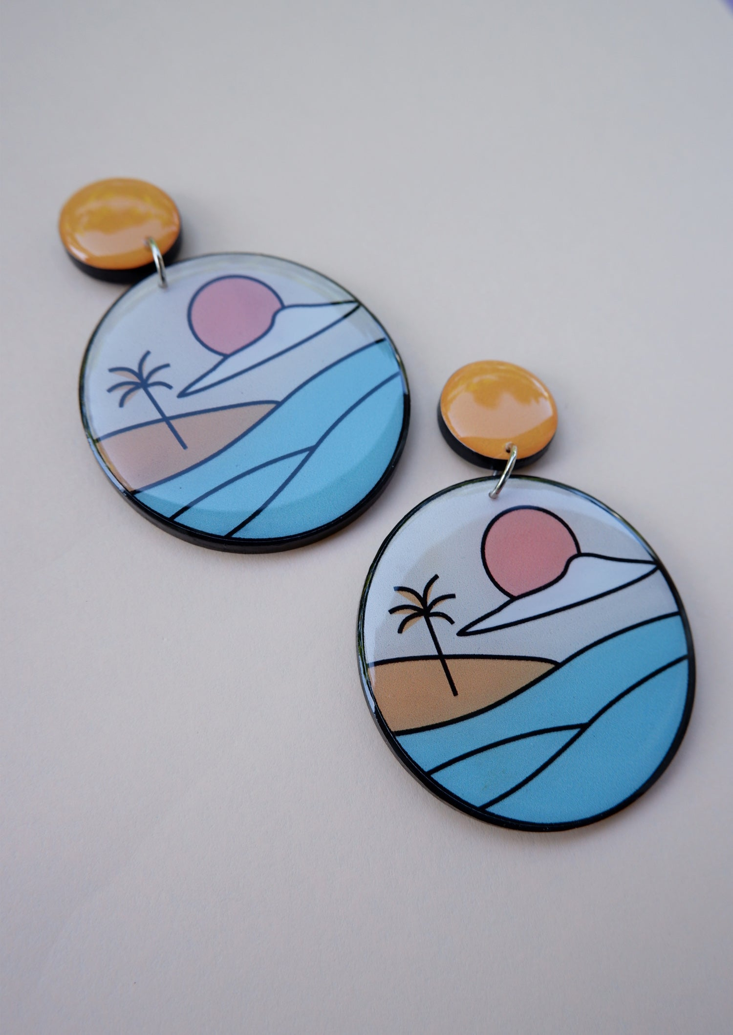 BY THE BEACH EARRINGS