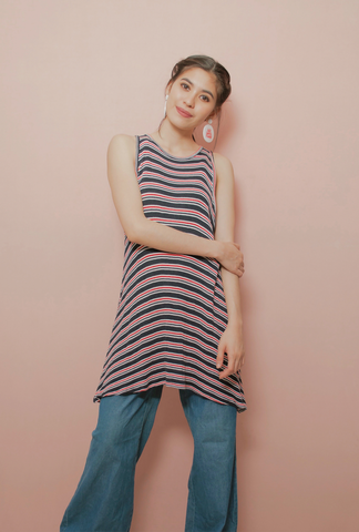 KARINA STRIPE DRESS