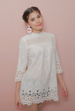 LUPE WHITE BLOUSE/DRESS