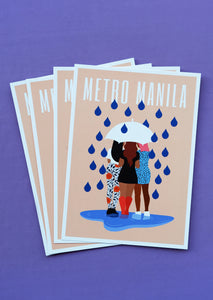MANILA HONEY POSTCARD RAINY DAYS