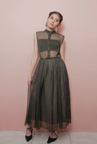 MOSSA SHEER DRESS