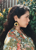 SUNFLOWER POWER EARRINGS