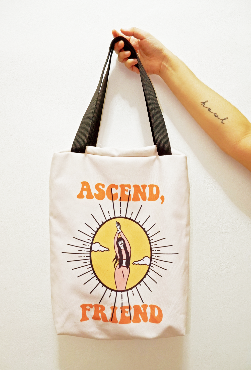 PRE-ORDER WITH CUTOFF: ASCEND, FRIEND TOTE BAG