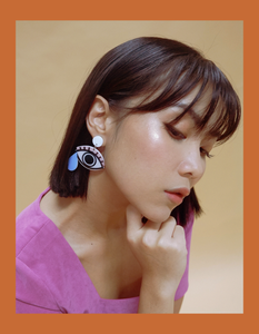 TRUE TEARS EARRINGS