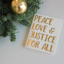 HOLIDAY CARDS: Matriarchy Now / Peace, Love and Justice