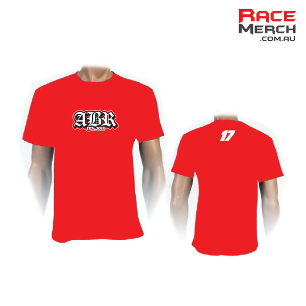 ABR - Red Logo Tee - MENS