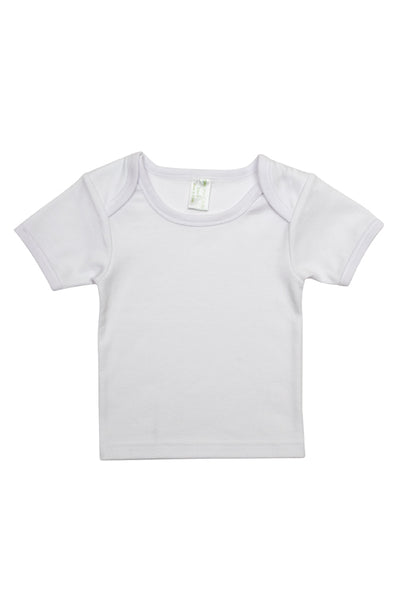 LilTackers Organic Coloured Hem Tee