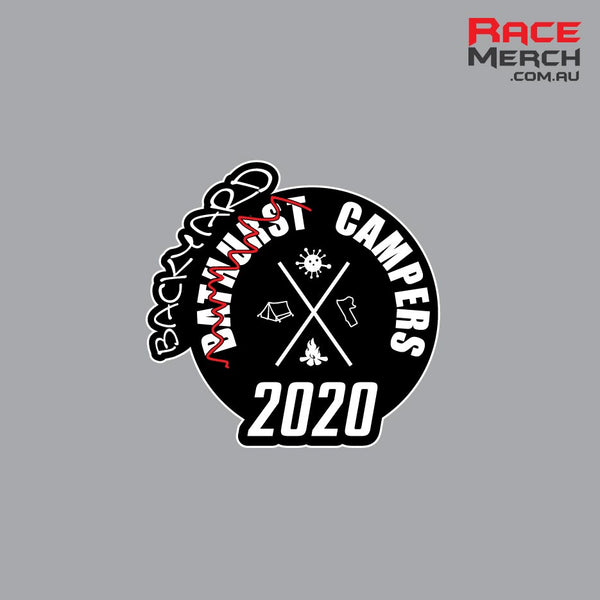 2020 Bathurst Backyard Campers Patch - Pre Order - Orders close Friday Feb 26