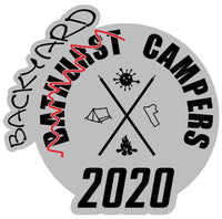 Bathurst Backyard Campers Sticker 2020