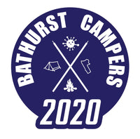 Bathurst Campers Sticker 2020