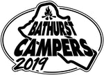CLEARANCE - Bathurst Campers - 2019 - Embroidered Patch