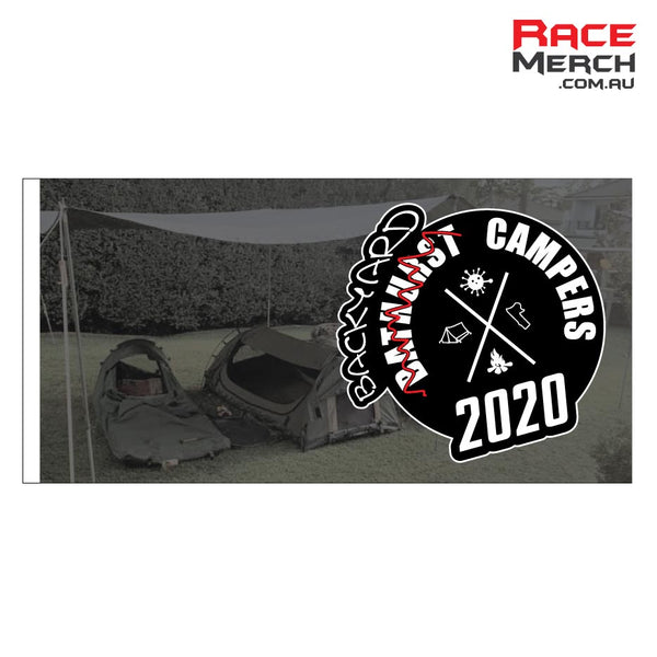 2020 Backyard Bathurst Campers Flag - Pre-order - Orders close Friday feb 26