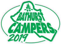 CLEARANCE - Bathurst Campers - 2019 - Sticker