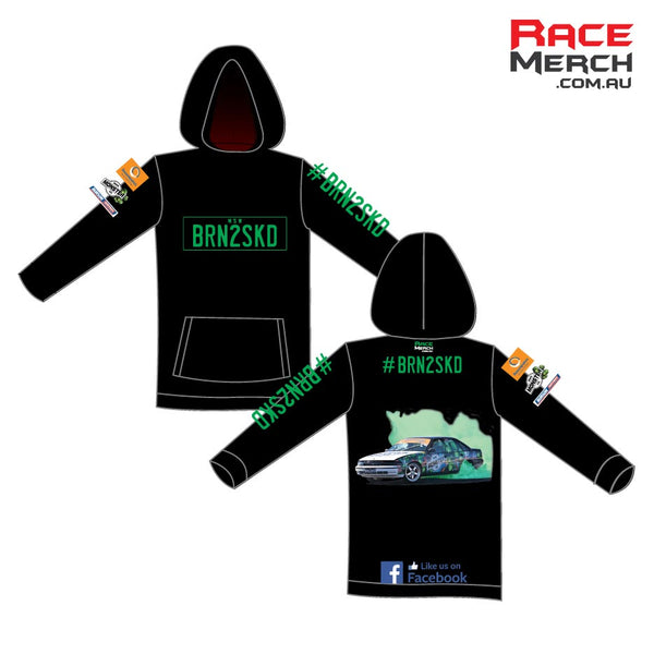 BRN2SKD - Sublimated Hoody