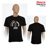 WILL NOT ARRIVE BEFORE RACE - Bathurst Backyard Campers Mens Tee 2020