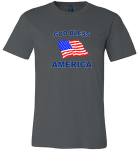 God Bless America - Canvas T-Shirt