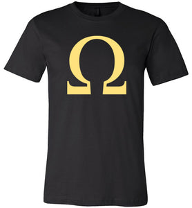 Omega Gold - Canvas T-Shirt
