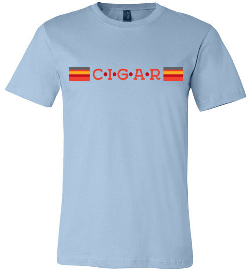 Retro Cigar - Canvas T-Shirt