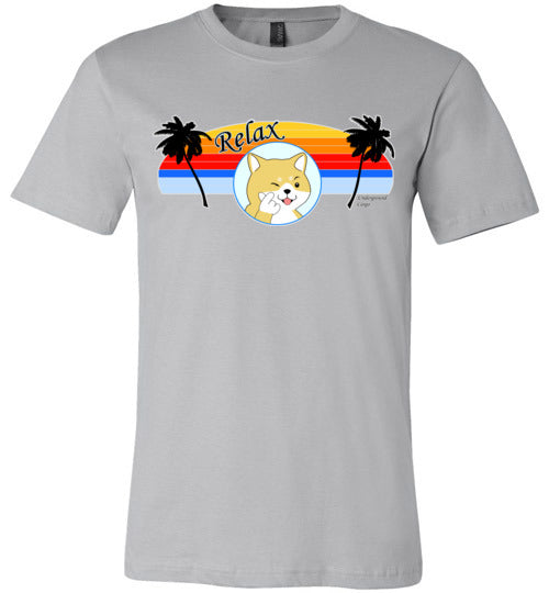 Retro Relax Doge - Canvas T-Shirt