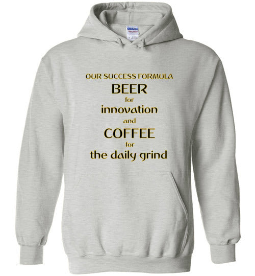 Our Success Formula Beer and Coffee - Gildan Heavy Blend Hoodie