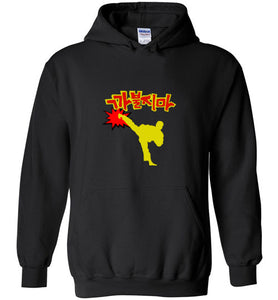 Don't Mess Around Karate - Gildan Heavy Blend Hoodie