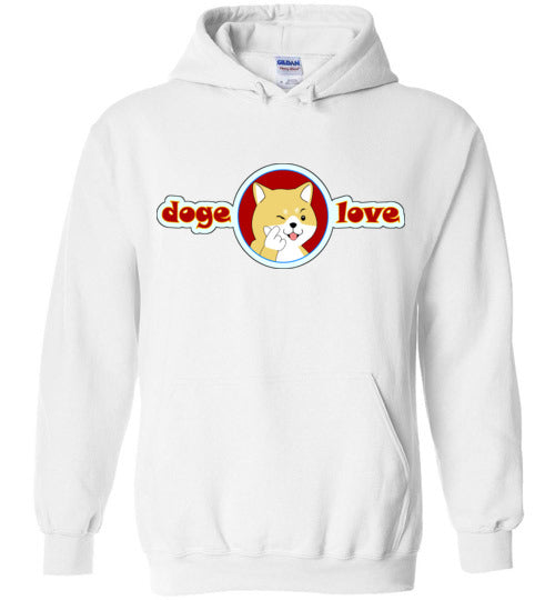 Doge I Love You - Gildan Heavy Blend Hoodie