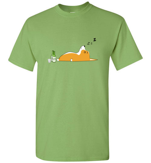 Corgi Nightlife - Gildan Short Sleeve T-Shirt