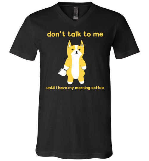 Morning Coffee - V-Neck T-Shirt