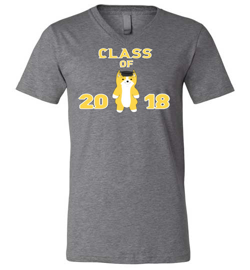 Class of 2018 - V-Neck T-Shirt