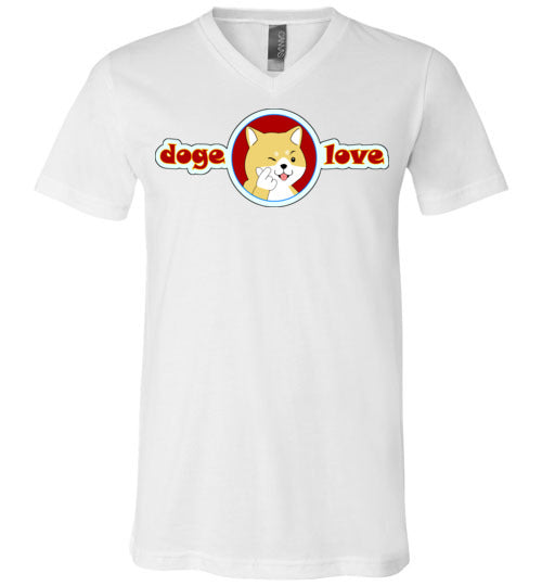 Doge I Love You - V-Neck T-Shirt