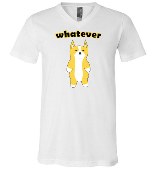 Doge Whatever - V-Neck T-Shirt