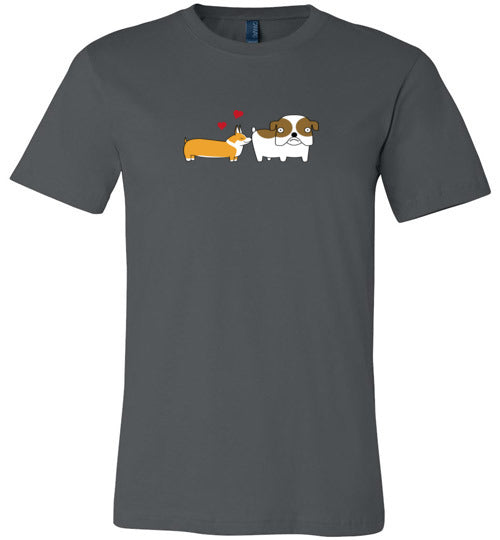 Corgi Crush - Canvas T-Shirt