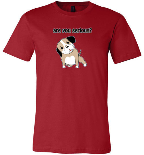 Are you Serious - Canvas T-Shirt