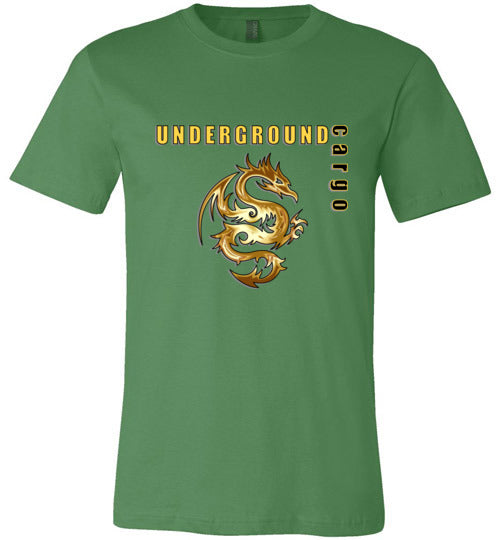 Underground Cargo Dragon - Canvas T-Shirt