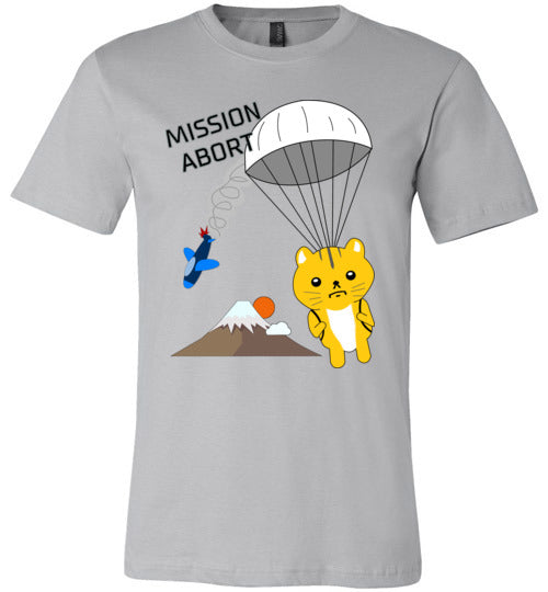 Spy Cat Parachute Mission Abort - Canvas T-Shirt