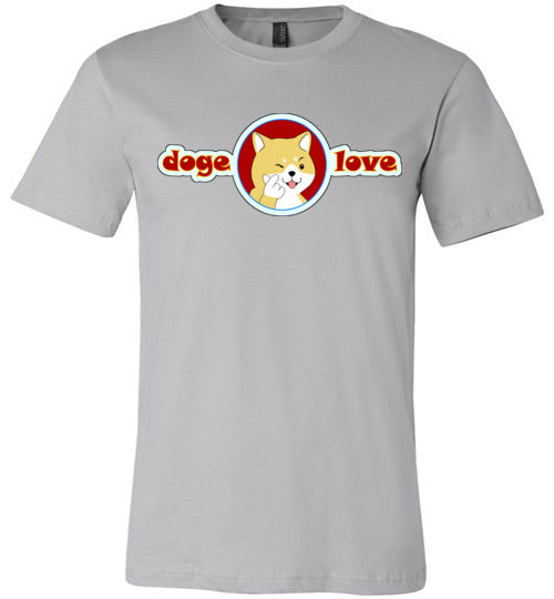 Doge I Love You - Canvas T-Shirt