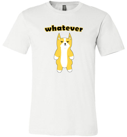 Doge Whatever - Canvas T-Shirt