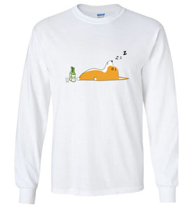Corgi Nightlife - Gildan Long Sleeve Shirt