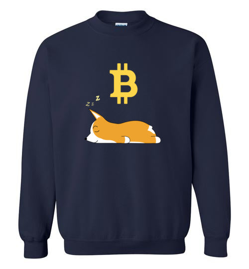 Bitcoin Dreams - Gildan Crewneck Sweatshirt