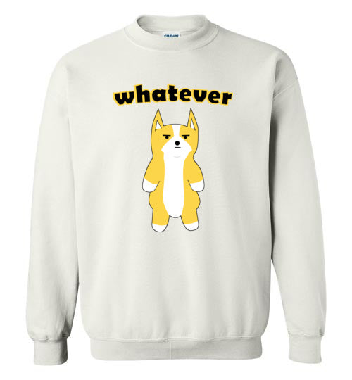 Doge Whatever - Gildan Crewneck Sweatshirt