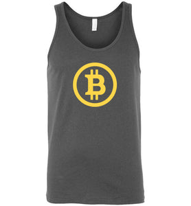 Bitcoin BTC - Canvas Tank